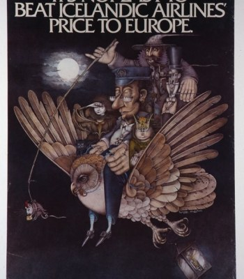 ICELANDIC AIRLINES POSTER