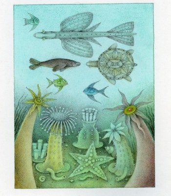 ORGANISMS FROM THE SEA